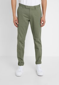 Polo Ralph Lauren - TAILORED PANT - Pantaloni - army olive - 0