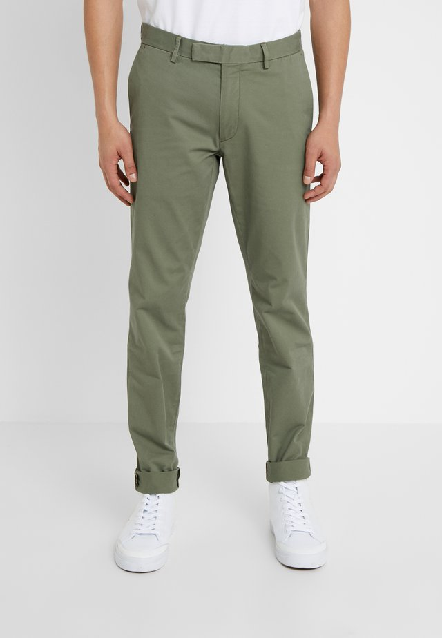 TAILORED PANT - Broek - army olive