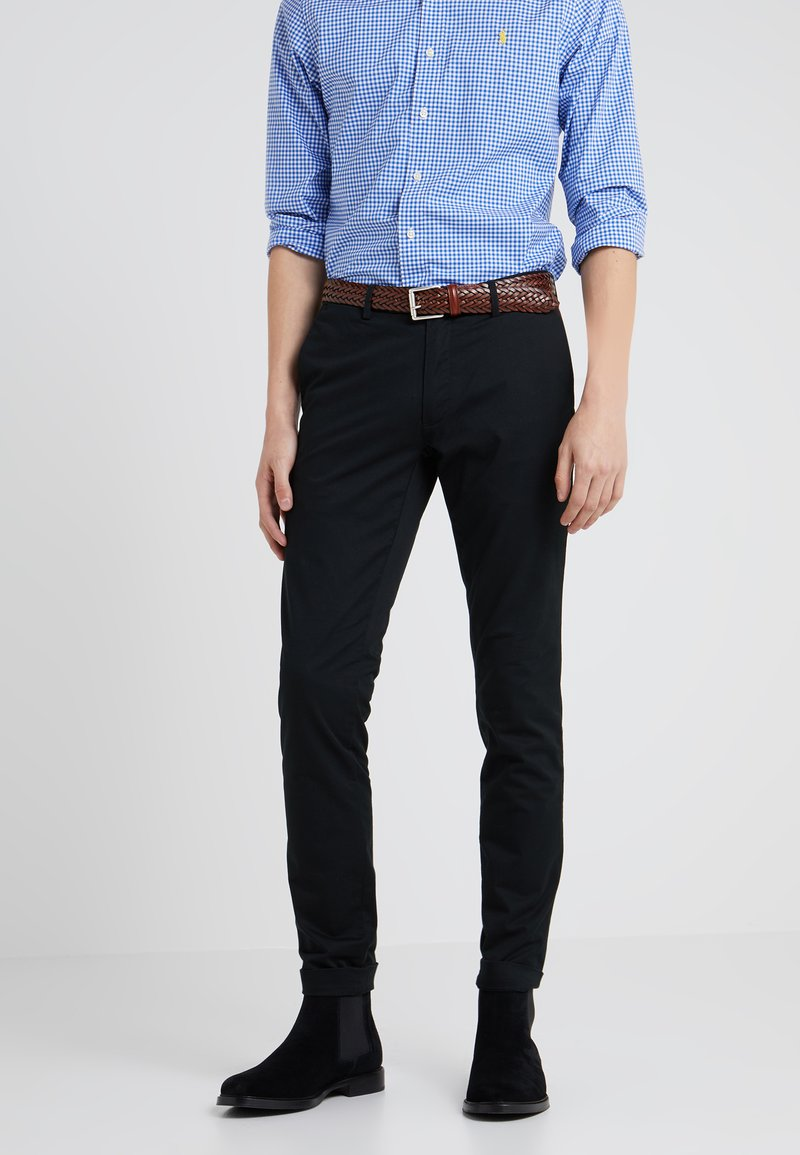 Polo Ralph Lauren - TAILORED PANT - Trousers - black