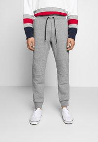 Polo Ralph Lauren - DOUBLE TECH - Pantaloni sportivi - battalion heather - 0