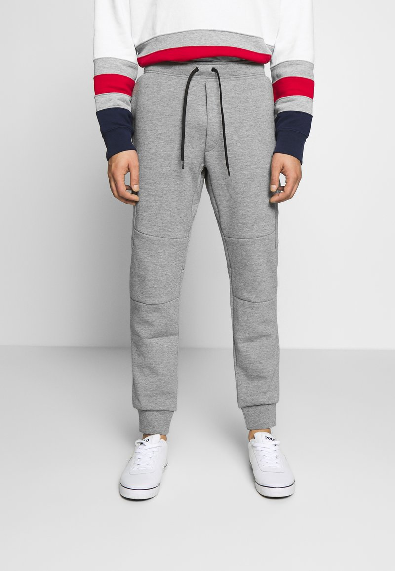 Polo Ralph Lauren - DOUBLE TECH - Pantaloni sportivi - battalion heather
