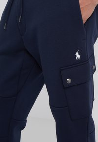 Polo Ralph Lauren - DOUBLE TECH - Tracksuit bottoms - aviator navy - 4