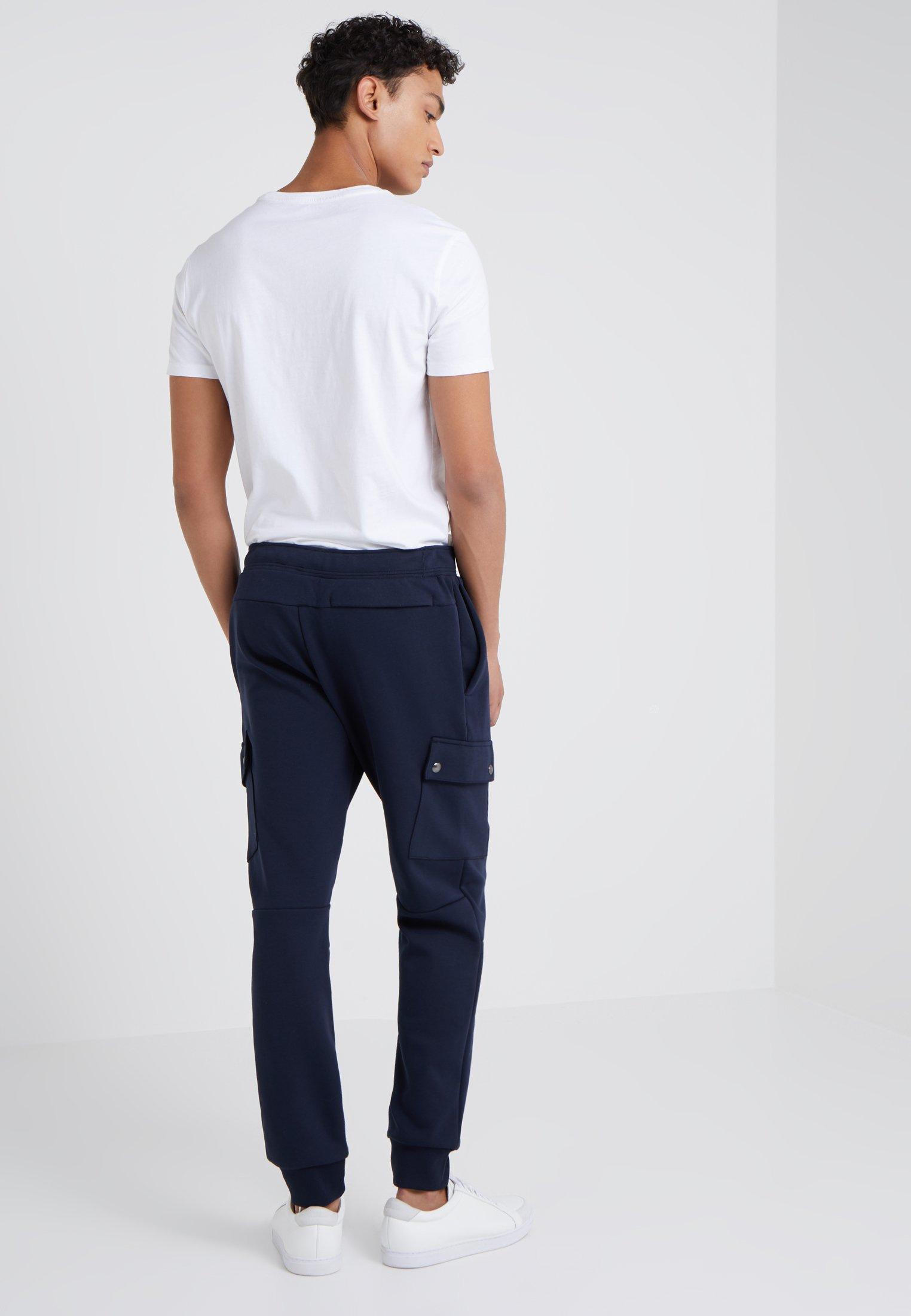 Polo Ralph Lauren DOUBLE TECH - Spodnie treningowe - aviator navy