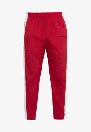 PULL UP PANT - Jogginghose - red/pure white