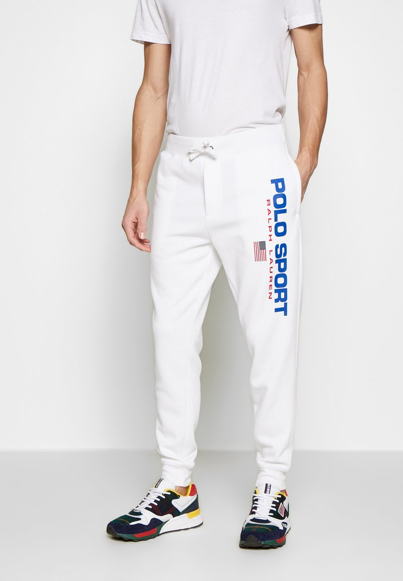 Polo Ralph Lauren - Teplákové kalhoty - white