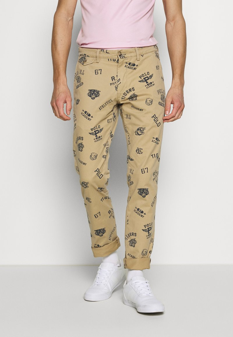 Polo Ralph Lauren - SLIM FIT BEDFORD PANT - Pantaloni - luxury tan
