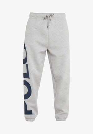 DOUBLE KNIT - Pantalon de survêtement - andover heather