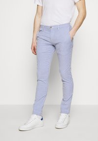 Polo Ralph Lauren - SLIM FIT BEDFORD PANT - Chino kalhoty - blue/white - 0