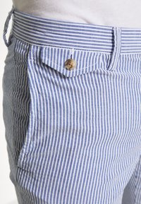 Polo Ralph Lauren - SLIM FIT BEDFORD PANT - Chino kalhoty - blue/white - 4
