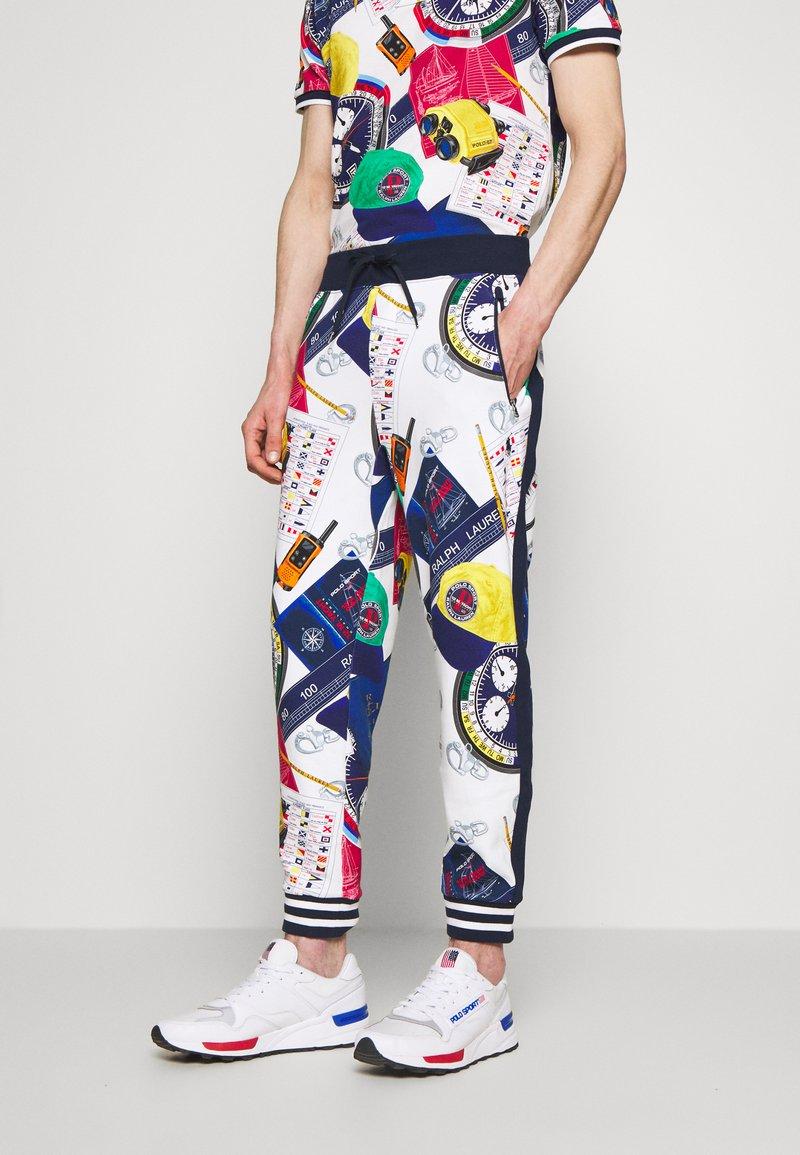 Polo Ralph Lauren - Pantaloni sportivi - white