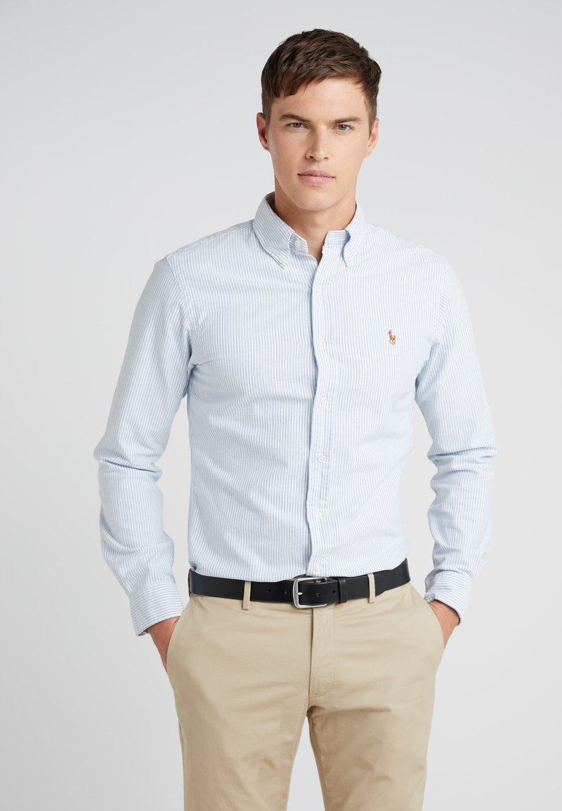 Polo Ralph Lauren - SLIM FIT - Shirt - blue/white