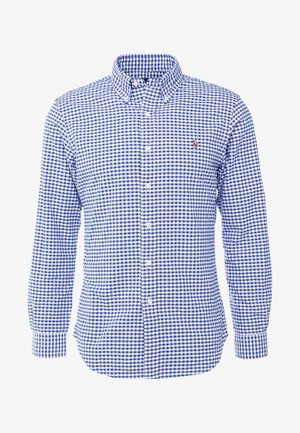 SLIM FIT - Košile - blue/white