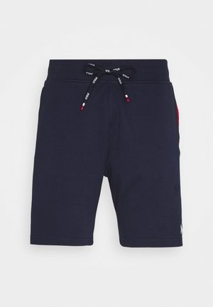 Tracksuit bottoms - cruise navy/multi