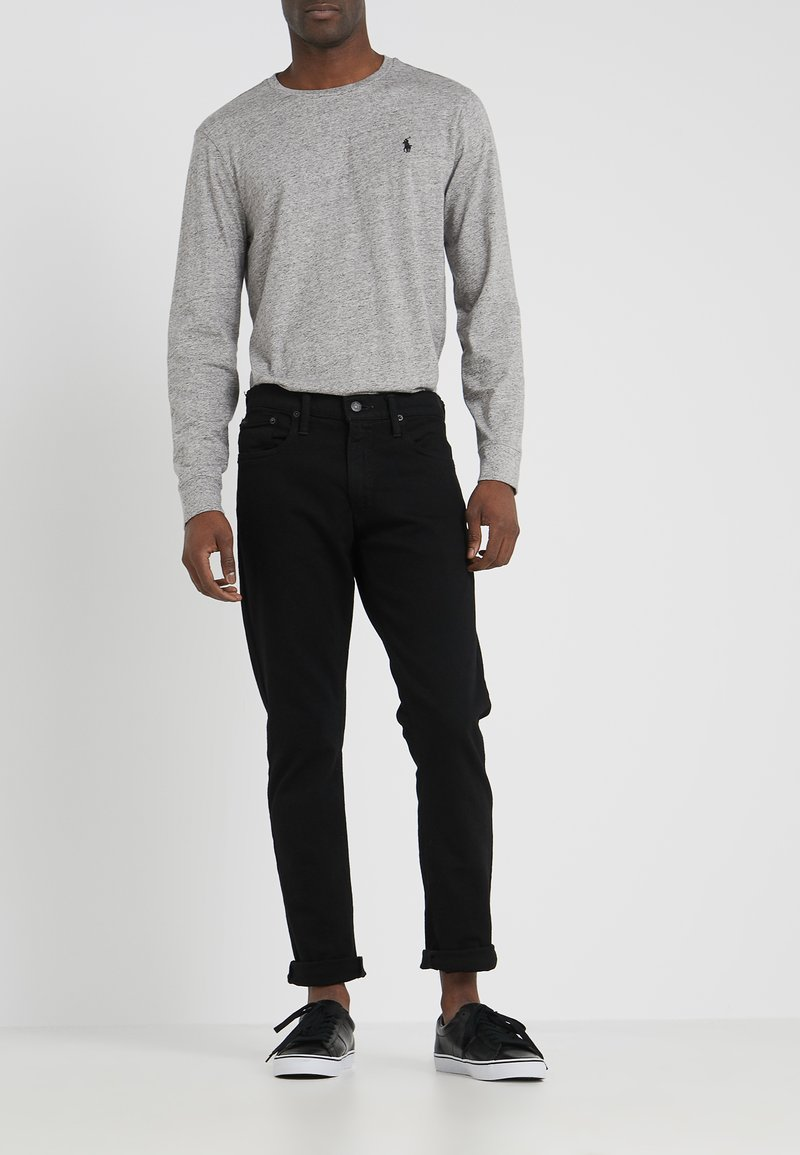 Polo Ralph Lauren - SULLIVAN PANT - Vaqueros slim fit - black