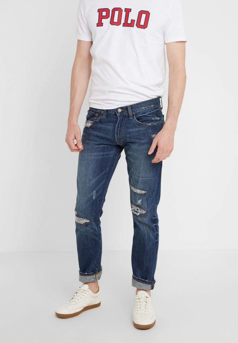 Polo Ralph Lauren - VARICK - Jeans Slim Fit - blue denim