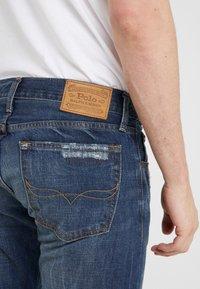 Polo Ralph Lauren - VARICK - Džíny Slim Fit - blue denim - 5
