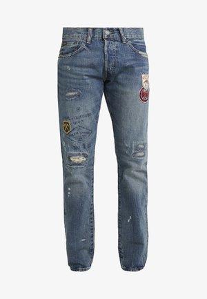 SULLIVAN - Jeans slim fit - ronan repaired