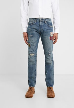 SULLIVAN - Slim fit jeans - ronan repaired