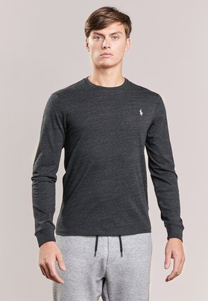 Maglietta a manica lunga - black marl heather