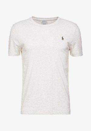 SLIM FIT - T-shirt - bas - american heather