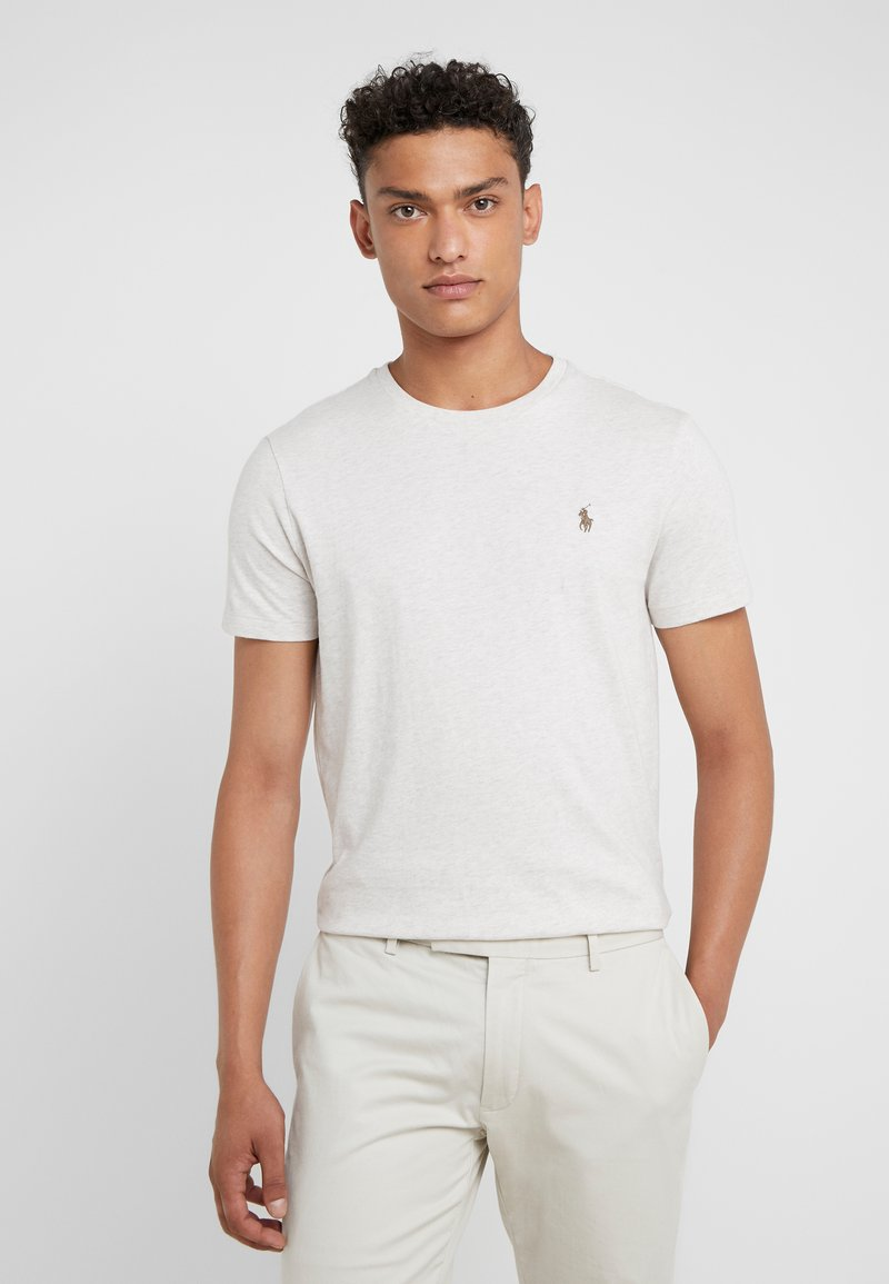 Polo Ralph Lauren - SLIM FIT - Basic T-shirt - american heather