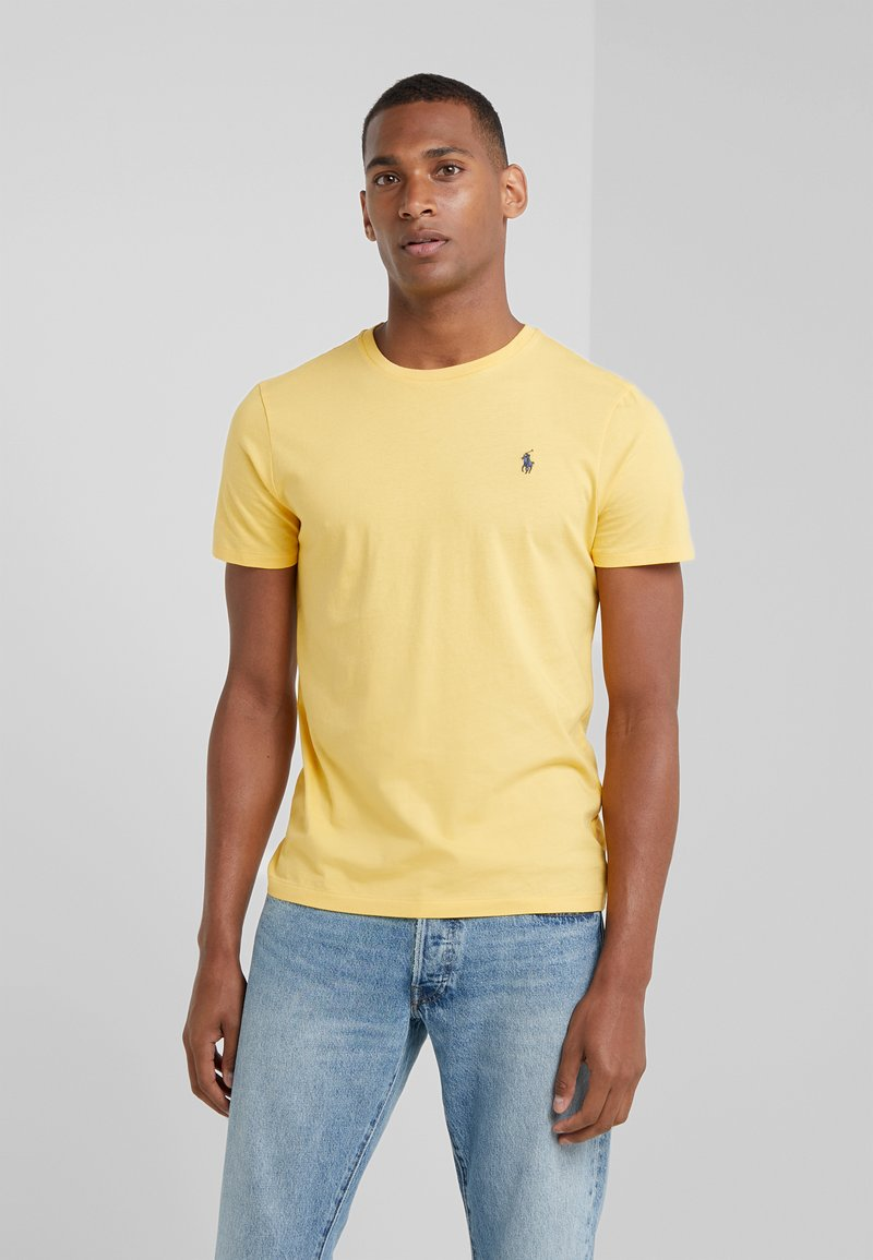 Polo Ralph Lauren - SLIM FIT - T-Shirt basic - chrome yellow