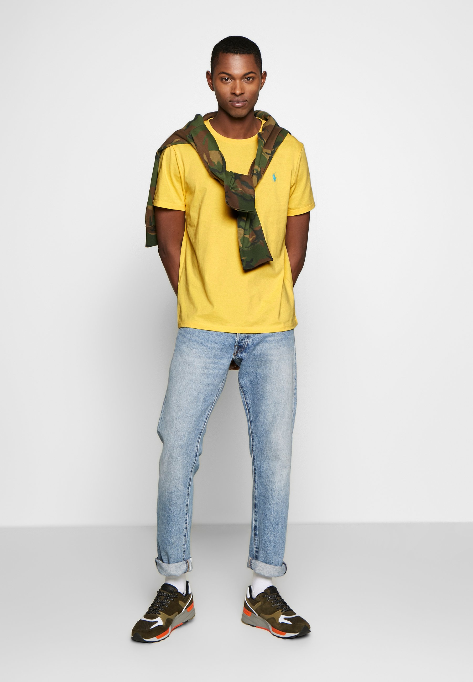 Polo Ralph Lauren SLIM FIT - T-shirt basic - empire yellow
