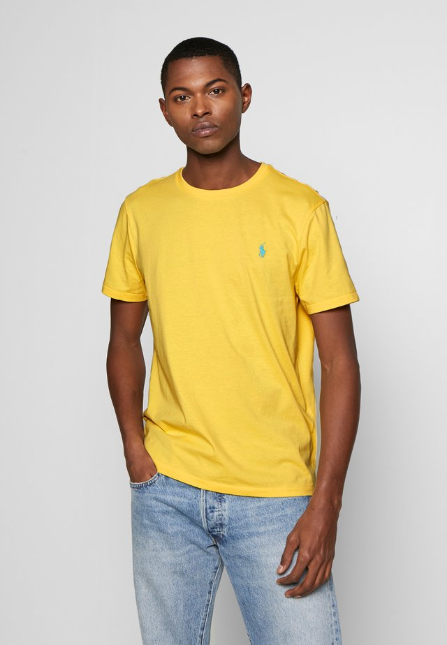 SLIM FIT - T-shirt basic - empire yellow