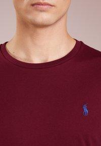 Polo Ralph Lauren - SLIM FIT - T-shirt basique - classic wine - 4