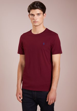 SLIM FIT - T-Shirt basic - classic wine