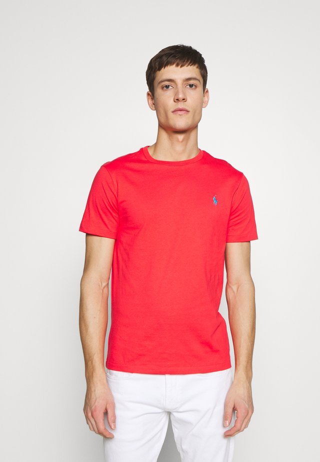 SLIM FIT - T-shirt basic - racing red