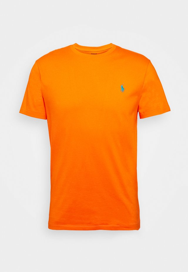 SHORT SLEEVE - Basic T-shirt - orange flash