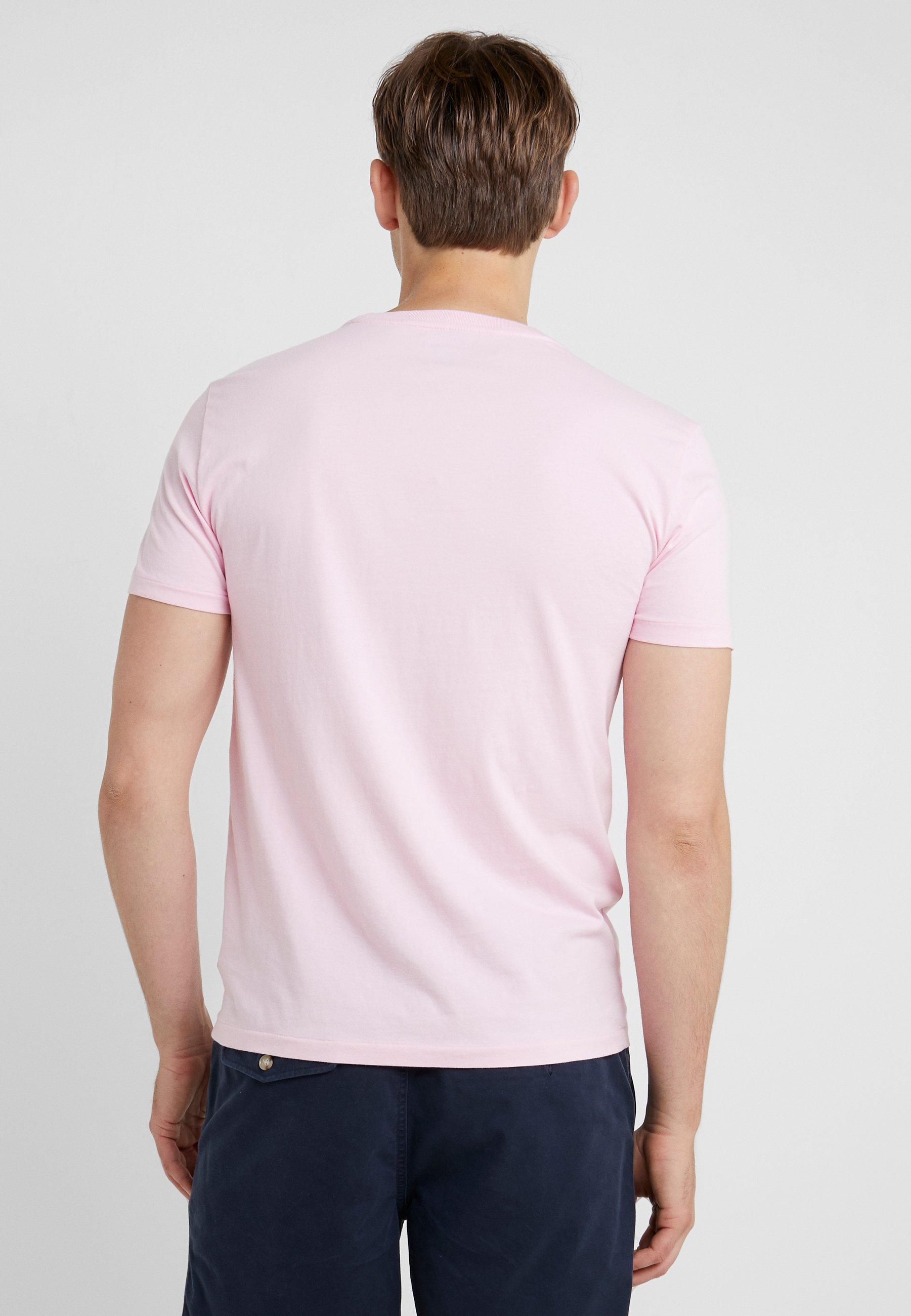 Slim FitT Polo Lauren shirt Ralph Carmel Pink Basic f7Ybgy6