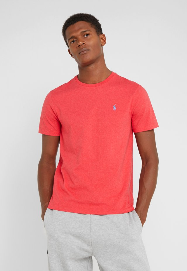 SLIM FIT - T-shirt basic - rosette heather