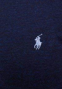 Polo Ralph Lauren - SLIM FIT - T-shirts - worth navy heathe - 4