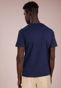 Polo Ralph Lauren - SLIM FIT - T-shirts - worth navy heathe - 2