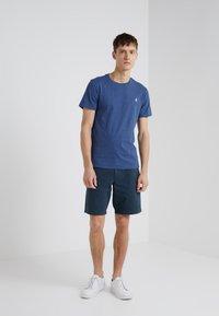 Polo Ralph Lauren - SLIM FIT - T-shirts - derby blue heather - 1