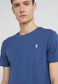 Polo Ralph Lauren - SLIM FIT - T-shirts - derby blue heather - 4