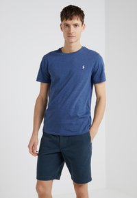 Polo Ralph Lauren - SLIM FIT - T-shirts - derby blue heather - 0