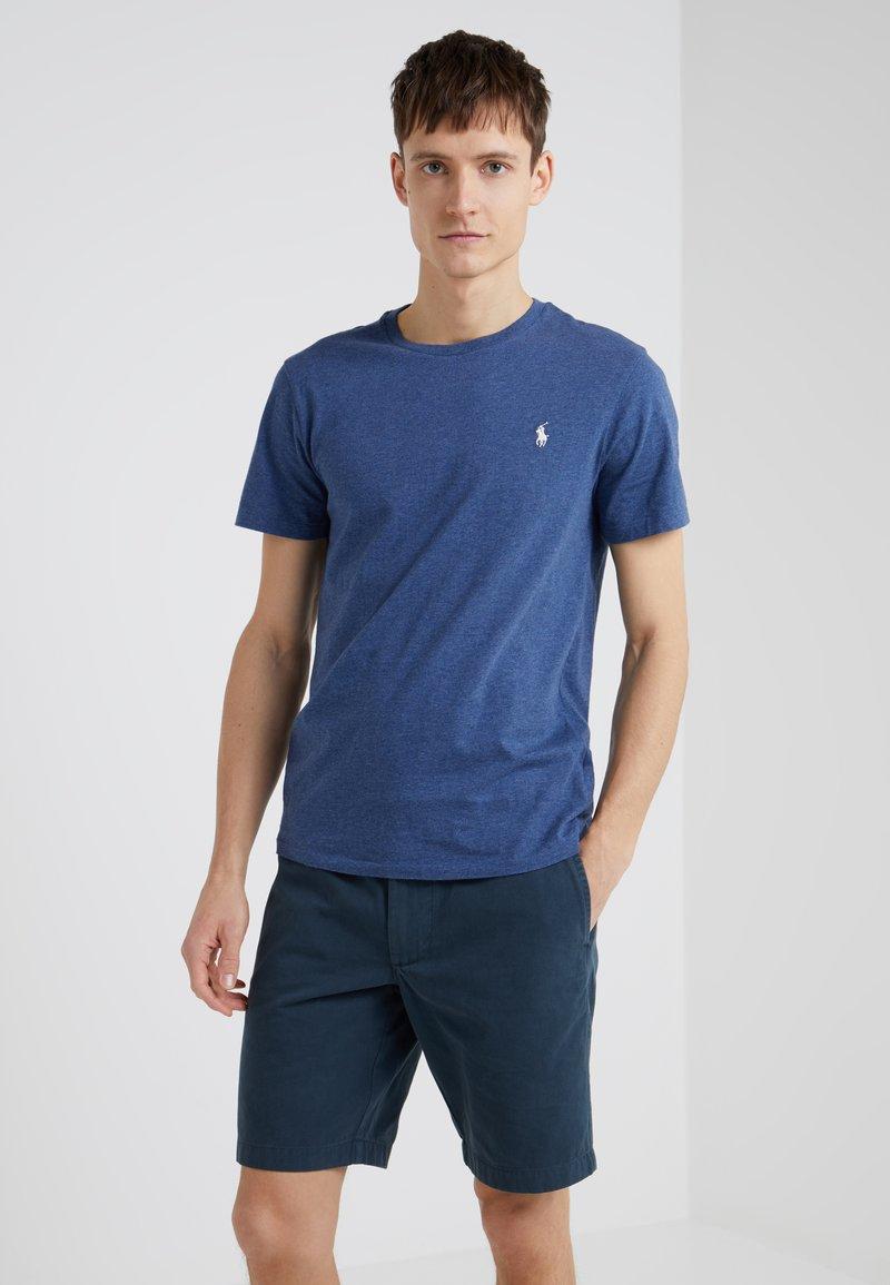 Polo Ralph Lauren - SLIM FIT - T-shirts - derby blue heather