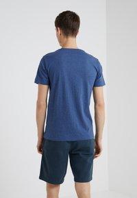 Polo Ralph Lauren - SLIM FIT - T-shirts - derby blue heather - 2
