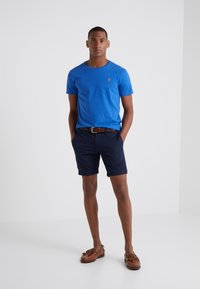 Polo Ralph Lauren - Jednoduché triko - dockside blue heather - 1