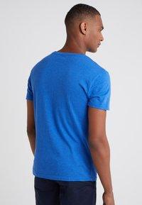 Polo Ralph Lauren - Jednoduché triko - dockside blue heather - 2