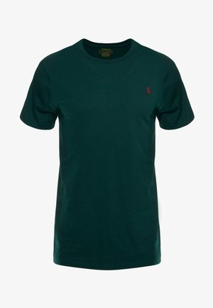 SLIM FIT - Basic T-shirt - college green
