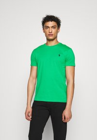 Polo Ralph Lauren - SLIM FIT - T-shirt basique - golf green - 0