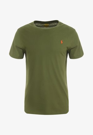 SLIM FIT - T-shirt basic - supply olive