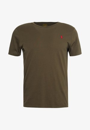 SLIM FIT - T-shirts - defender green