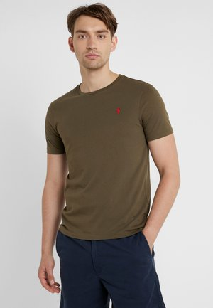 SLIM FIT - Basic T-shirt - defender green