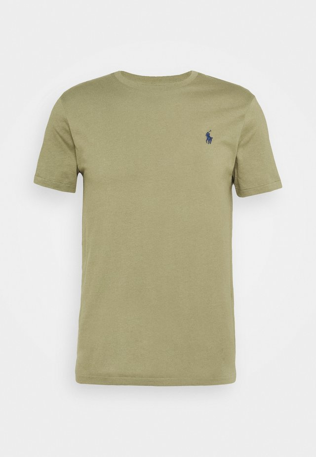 SLIM FIT - T-shirt basic - sage green