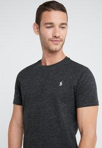 Polo Ralph Lauren - SHORT SLEEVE - T-shirts - black marl heather - 4